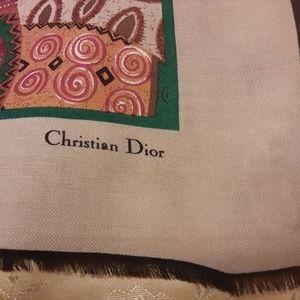 Christian Dior fall scarf